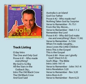 Colin Remember the Lord CD