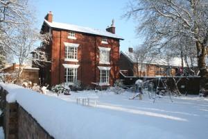 vicarage snow