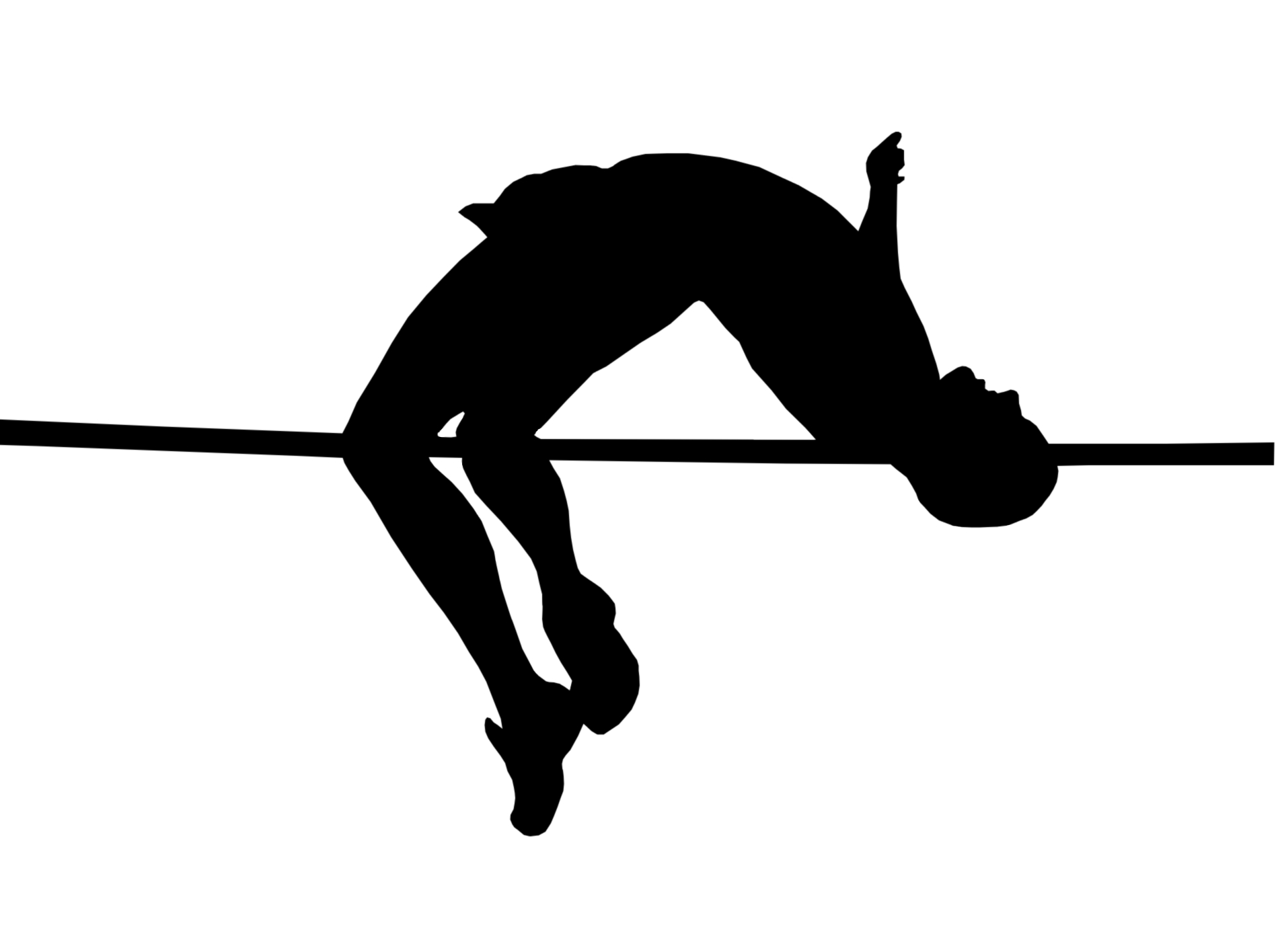 High Jump Silhouette Stock Images RoyaltyFree Images