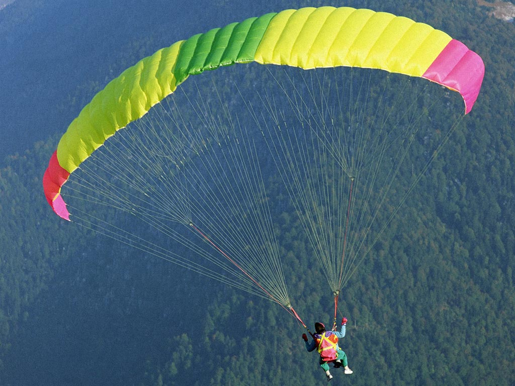 A parachute as an illustration of faith and works | Transforming Grace